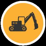 Northeast Remsco Construction Infrastructure Logo
